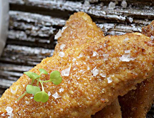 Crispy Chicken Strips With Lime Aioli (Gluten-Free)