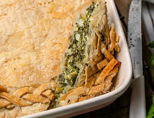 Spanakopita with Puff Pastry (Gluten-Free)